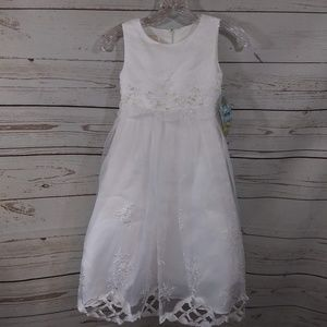 Cinderella Dress Fully Lined Tulle Floral D17